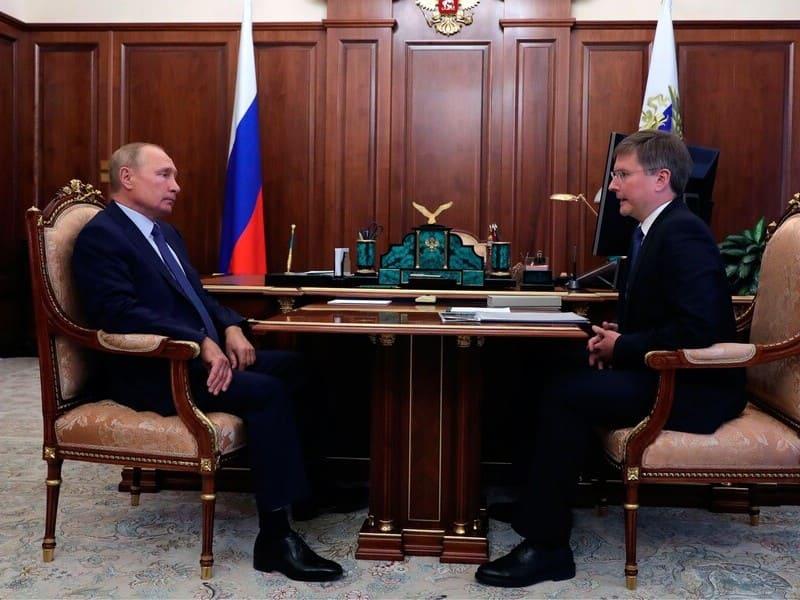 Сергей Иванов Владимир Путин