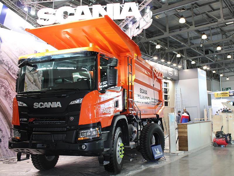 SCANIA на MiningWorld Russia 2020