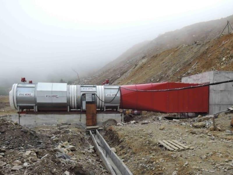вентилятор EOL Vent Mining