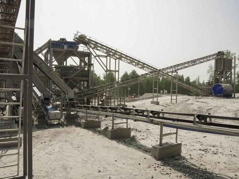 дробильно-сортировочный комплекс ALLIS SAGA
