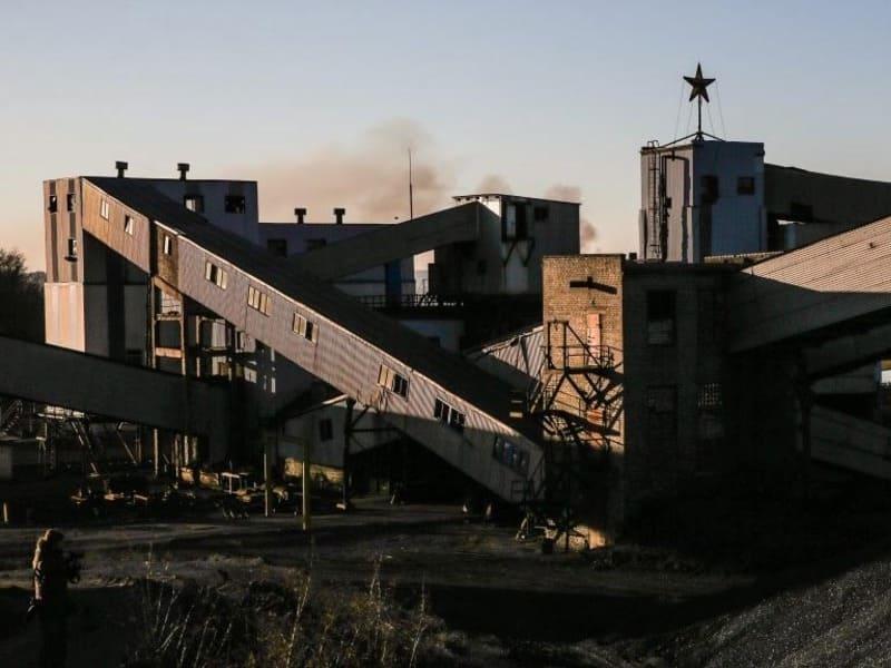 шахта Донбасса