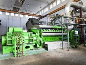 газовый двигатель