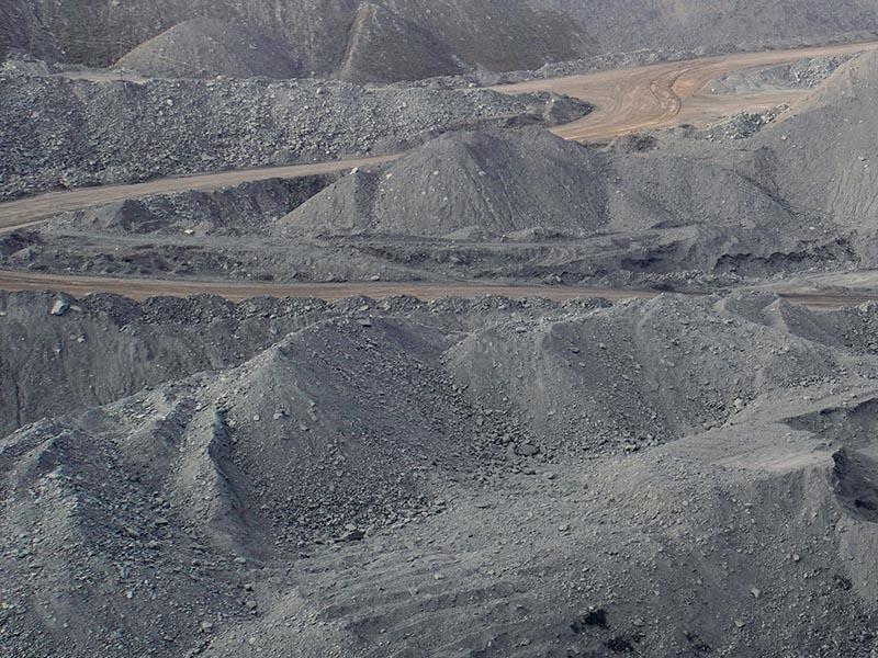 Добыча «русского угля»: люди и машины