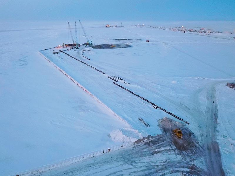 Транспортная инфраструктура проекта «Арктик СПГ 2»