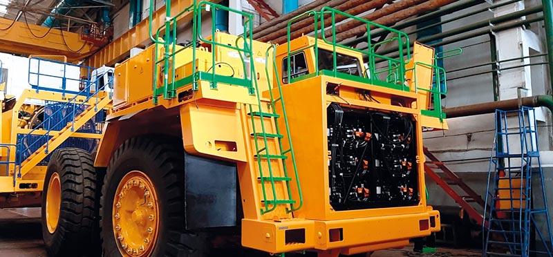 Электромобиль в карьере и в шахте