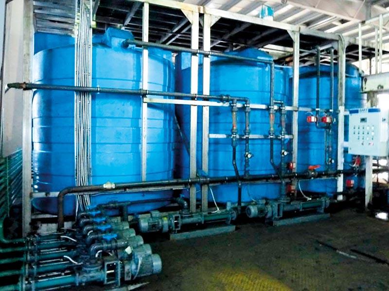 Системы промышленной очистки стоков «Дакт Био». Станция приготовления флокулянта замкнутой системы оборотного водоснабжения