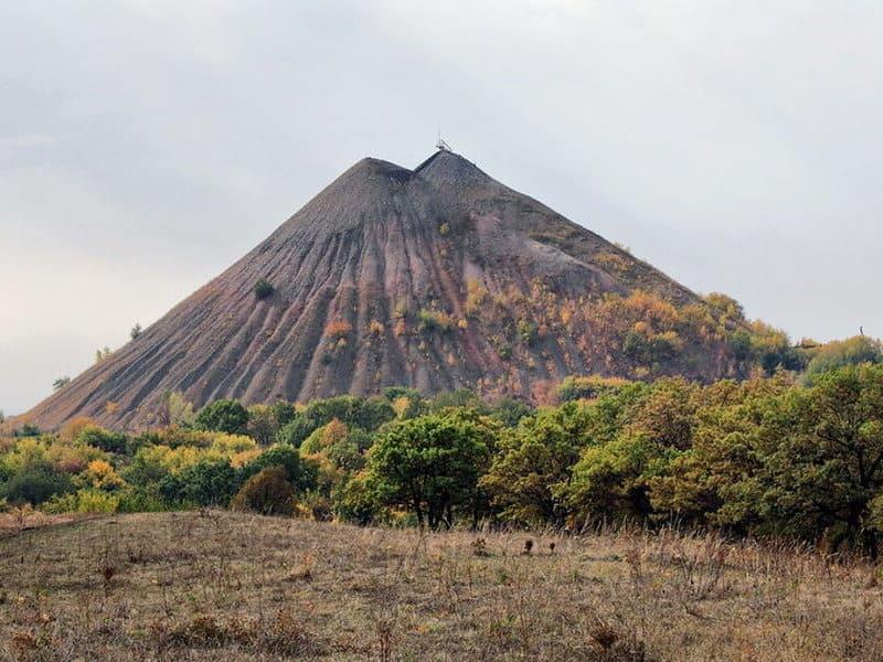 террикон в Донбассе