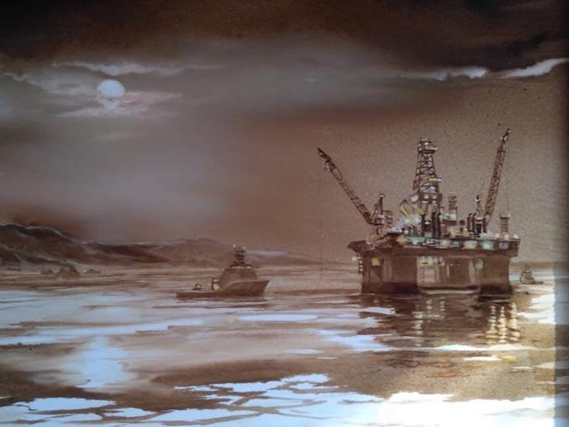 Картина нефтью художника из Санкт-Петербурга Виталия Касаткина.