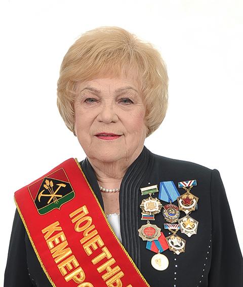 Лина Антипенко, научный руководитель, доктор технических наук, профессор, действительный член Академии горных наук, почетный гражданин Кемеровской области