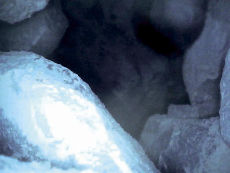 «Умный напарник» для эндоскопических исследований подземных выработок. Изображения, полученные при помощи видеоэндоскопа, при исследовании скважин