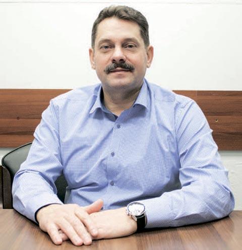 Дмитрий Болычев, директор филиала «Лизинговой компании «Дельта» в республиках Хакасия и Тыва.