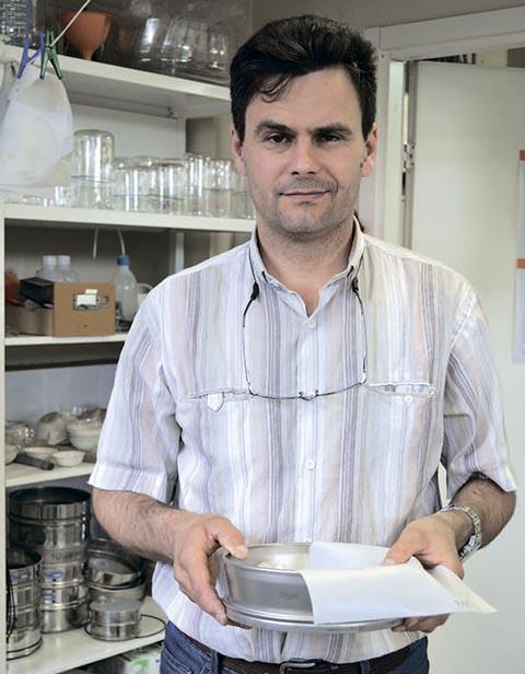 Илья Анисимов, начальник минералогической лаборатории «Полиметалл Инжиниринга»