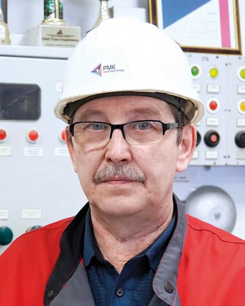 Сергей Загидулин, технолог гидрометаллургического участка АО «Уралгидромедь»