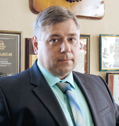 Игорь Ишков, генеральный директор Тульского завода горно-шахтного оборудования