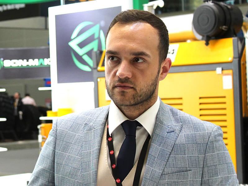начальник отдела продаж ООО «Сон-Мак Рус» Бурак Озметин.