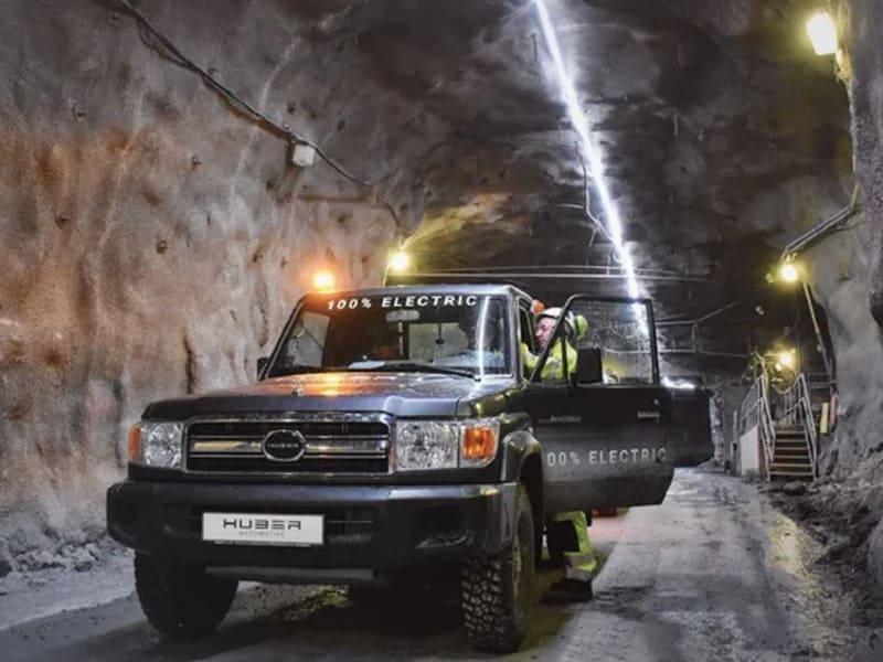 подземный электромобиль