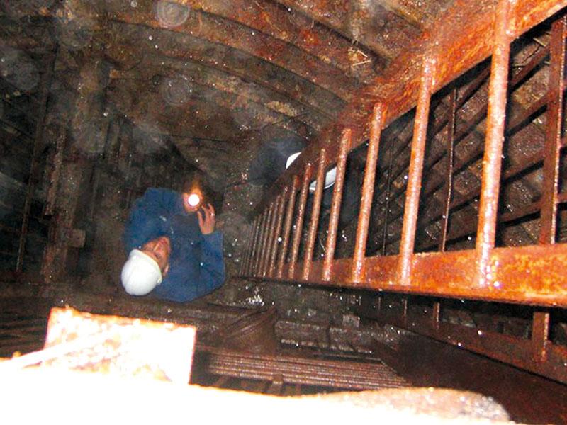 Геотехнические технологии для строительства шахтных стволов