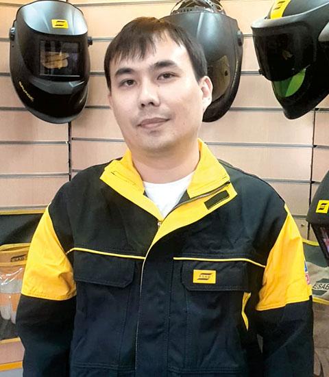Давид Пак, руководитель направления ремонта и восстановление компании ESAB