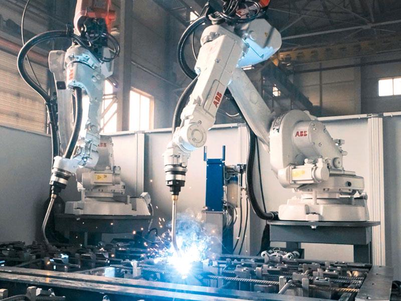 Обеспечение качества сварных соединений армокаркаса анкерной крепи путём роботизации производства