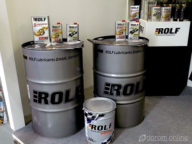 моторные масла  ROLF