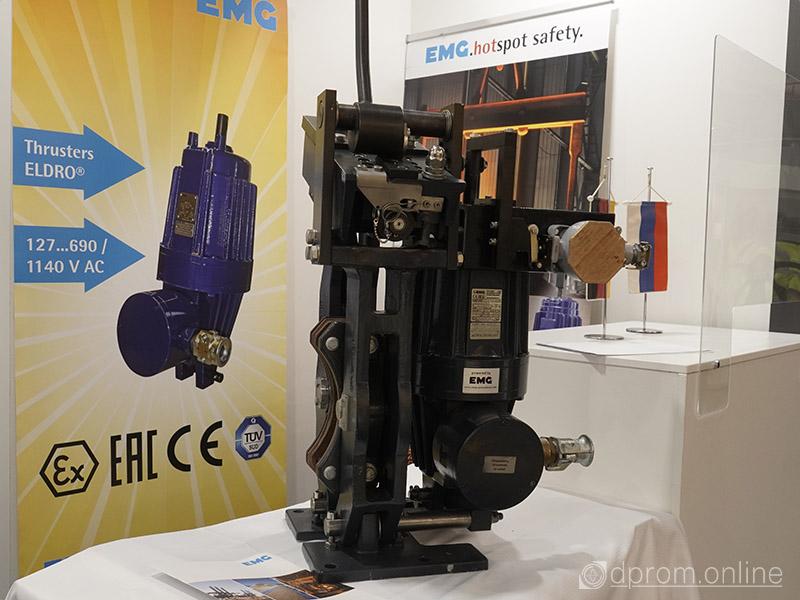 тормоз электрогидравлический дисковый с электрогидравлическим толкателем EMG
