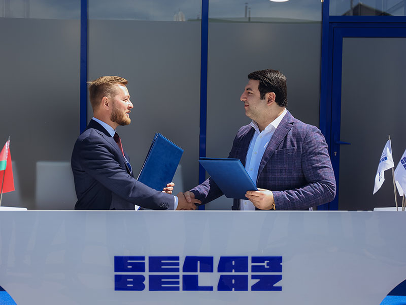 Триумфальные итоги «БЕЛАЗ» на выставке «Уголь России и Майнинг 2021»: контракты на сумму 25 млрд рублей