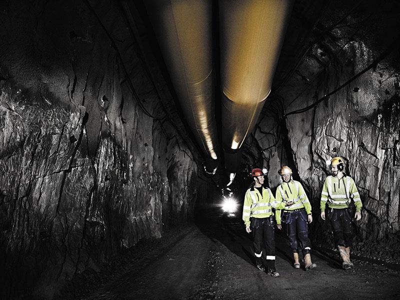 Шахта, работа в шахте