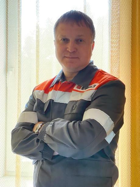 """заместитель главного инженера шахты """"Шерегешская"""", Александр Степанов"""""""