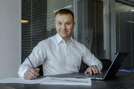 директор НПО «Аконит» Дмитрий Викторов