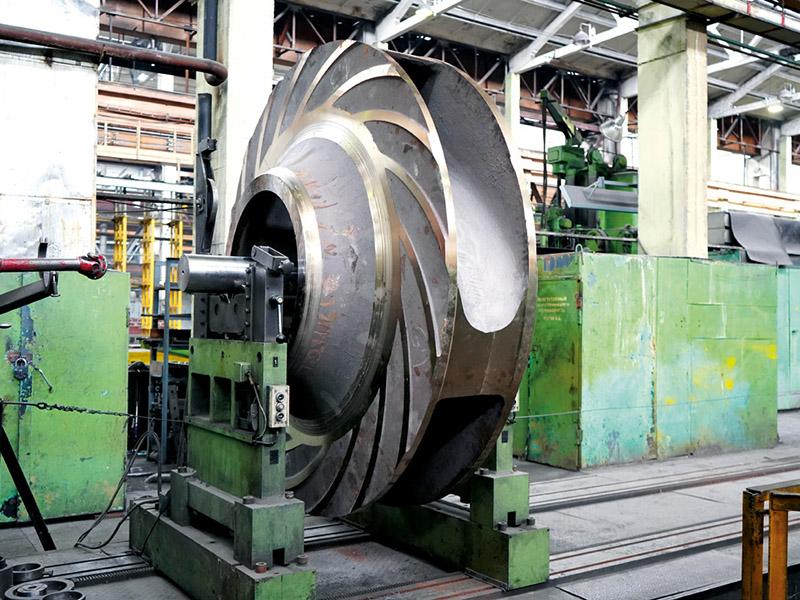 Производство шламовых насосов от ПГМК