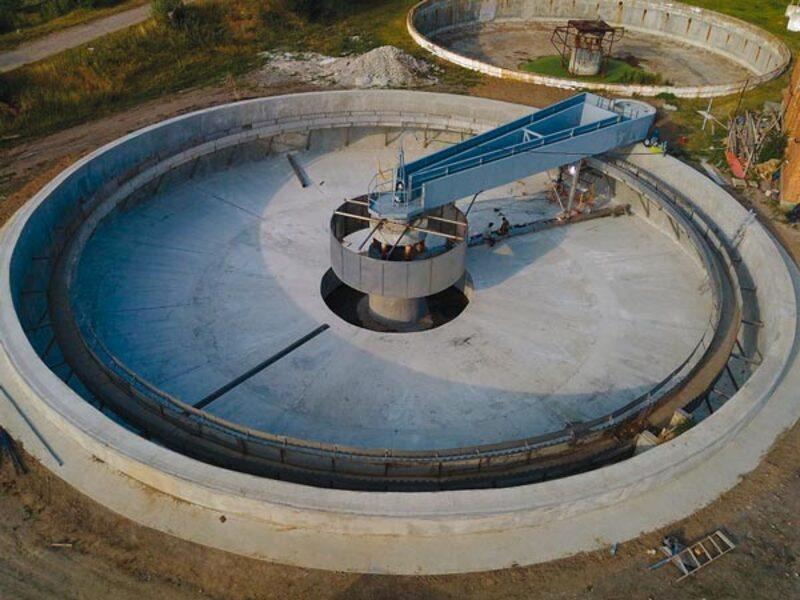 несущие фермы водоочистного оборудования