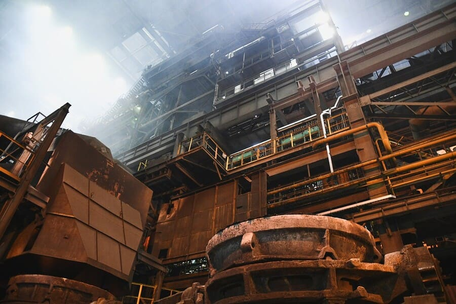 металлургическое предприятие