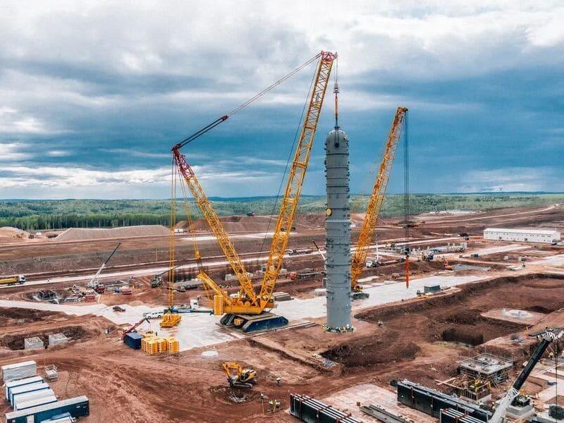 строительство Иркутского завода полимеров
