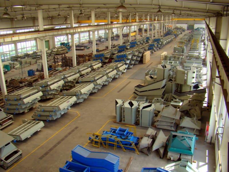 производство грохотов